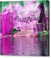 Purple Siren Canvas Print