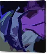 Purple Smash Canvas Print