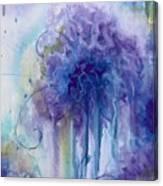 Purple Sofness Canvas Print
