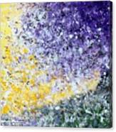 Purple Tree And The Afternoon Sun Canvas Print