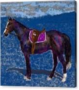 Purple Whiskey Canvas Print