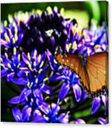 Purple World Canvas Print