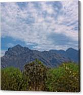 Pusch Ridge Morning H26 Canvas Print