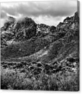 Pusch Ridge Snow No10 Canvas Print