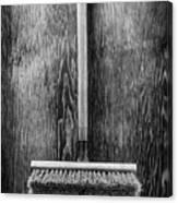 Push Broom Canvas Print