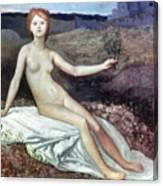 Puvis De Chav: Lesperance Canvas Print