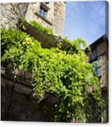 Puy L'eveque Old Stone House Canvas Print