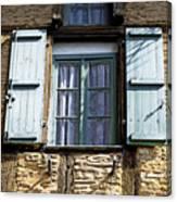 Puy L'eveque Window Canvas Print