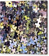 Puzzle Piece Abstract Canvas Print