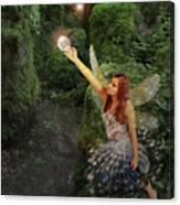 Puzzlewood Fairy Canvas Print