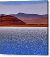 Pyramid Lake Winds Canvas Print