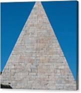 Pyramid Of Caius Cestius Canvas Print