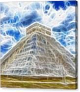 Pyramid Of The Maya  Canvas Print