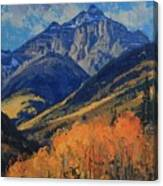 Pyramid Peak Canvas Print