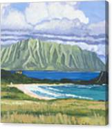 Pyramid Rock Canvas Print