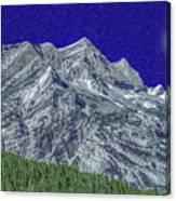 Pyrenees Astazous Mountain Canvas Print