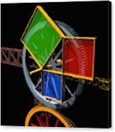 Pythagorean Machine Canvas Print