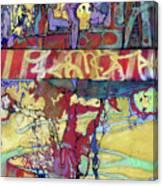 Q-train, Flatbush Canvas Print