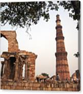 Qtub Minar, New Delhi India Canvas Print