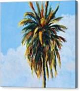 Quad Palms 4 Of 4 Canvas Print