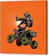 Quad Rider Series Canvas Print