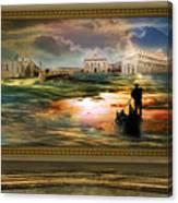 Quadro Nel Museo Del Surrealismo Canvas Print