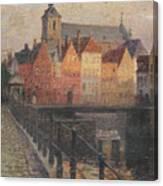 Quai De La Paille Canvas Print