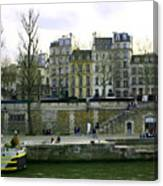 Quai De Seine Canvas Print