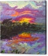 Quail Lake Canvas Print