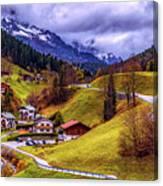 Quaint Bavarian Village Canvas Print