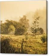 Quaint Countryside Scene Of Glen Huon Canvas Print