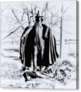Quaker Pilgrim Canvas Print