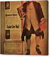 Quaker Quality Canvas Print