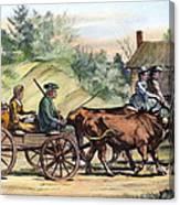 Quakers, 1776 Canvas Print