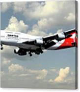 Quantas Boeing 747 Canvas Print