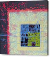 Quardangulars1 Monoprint Canvas Print