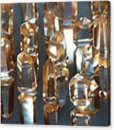 Quartz Crystal Collection Canvas Print
