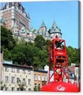 Quebec City 57 Canvas Print