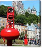 Quebec City 58 Canvas Print