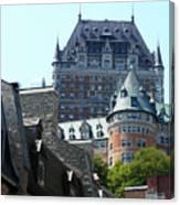 Quebec City 60 Canvas Print