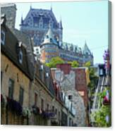 Quebec City 61 Canvas Print