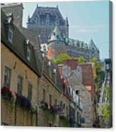 Quebec City 62 Canvas Print