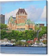 Quebec City  6326 B  Canvas Print