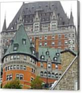 Quebec City 65 Canvas Print