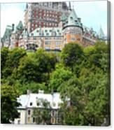 Quebec City 69 Canvas Print