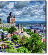 Quebec City Overlook Canvas Print