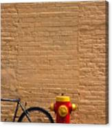 Quebec Hydrant Canvas Print