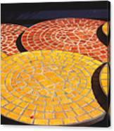 Quebec Tables 2 Canvas Print