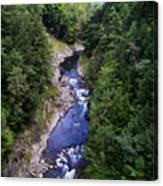 Quechee Gorge In Vermont Canvas Print