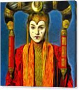 Queen Amidala Senate Costume Canvas Print